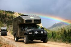 001_inaction_std For off the grid living, the EarthRoamer contains a 90 gallon fresh water tank and 26 gallon grey water tank. A solar array capable of pulling in 660 to 1,100 watts, as well as a 3.7-kW diesel powered generator ensures plenty of power.
