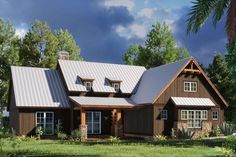 Craftsman Plan: 1,897 Square Feet, 4 Bedrooms, 2 Bathrooms - 8318-00170 Porch Storage, Mountain House Plans, House Plans And More, Craftsman Style House Plans, Rustic House Plans, Farmhouse Style, Craftsman Farmhouse, Modern Farmhouse, Great Rooms