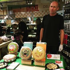 Yummy samples of cheese happening now in your co-op!!    #coopmonth #gocoop #cheese #seattle #capitolhill #centraldistrict
