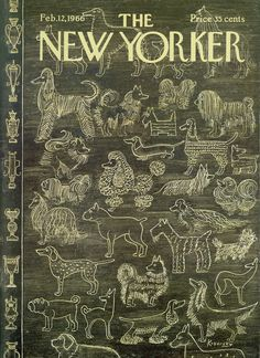 The New Yorker - Saturday, February 12, 1966 - Issue # 2139 - Vol. 41 - N° 52 - Cover by : Anatol Kovarsky
