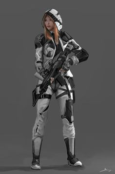 Science fiction characters sci fi armors New ideas Female Character Design, Character Concept, Character Art, Armadura Sci Fi, Fille Anime Cool, Rpg Star Wars, Futuristic Helmet, Concept Art Landscape, Sci Fi Armor