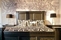 Great Customer Examples - Page 4   Murals Your Way  love black and white