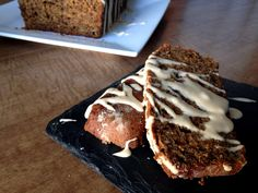 Bananas Foster Bread with Butter Rum Glaze