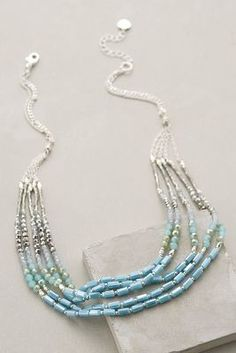 Anthropologie Ombre Marina Necklace