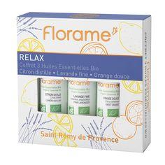 Coffret d'huiles essentielles Bio Relax Florame Mask Cream, Relax, Bullet Journal, Eyelashes, Gift Ideas, Keep Calm