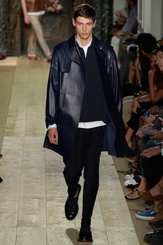 Valentino Spring 2015 Menswear - Collection - Gallery - Look 1 - Style.com