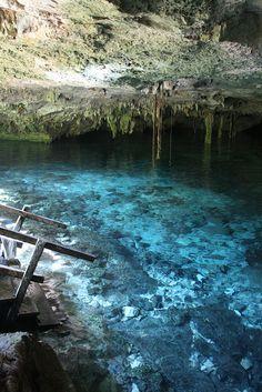 Cenote Dos Ojos, una de las maravillas para disfrutar recorriendo #Tulum. Aventuras en la selva Yucatana.