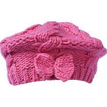 Truly Scrumptious Girls Pink Crochet Hat