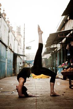 Poses Around the World: Two-Legged Inverted Staff Pose taken in Mysore, India by Christine Hewitt Namaste,Yoga,Yoga Hatha Yoga, Sup Yoga, Yoga Inversions, Yoga Moves, Yoga Exercises, Yoga Inspiration, Fitness Inspiration, Ayurveda, Yoga Fitness