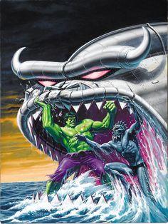 #Hulk #Fan #Art. (Hulk) By: Bob Larkin. (THE * 5 * STÅR * ÅWARD * OF: * AW YEAH, IT'S MAJOR ÅWESOMENESS!!!™)[THANK Ü 4 PINNING<·><]<©>ÅÅÅ+(OB4E)                 https://s-media-cache-ak0.pinimg.com/474x/3e/ce/ac/3eceacbebf7beaf70735e594a02f5941.jpg