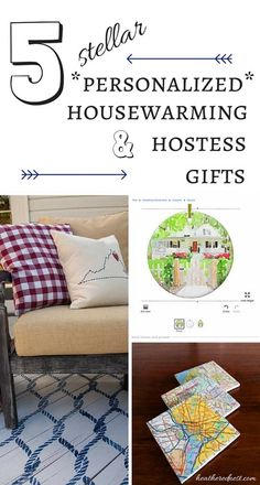 5 Stellar, Personalized Housewarming or Hostess Gifts
