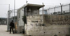 El centro de registro de refugiados de Moria, en Lesbos, Grecia, convertido prácticamente en un campo de detención de refugiados.- REUTERS/Alkis Konstantinid