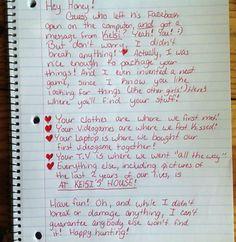 Best breakup letter ever…