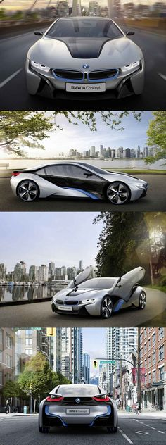 BMW i8 Concept...HOLY MOLY...never in a million years...but how DOPE is this car!?