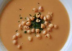 Sárgaborsó krémleves recept foto Soup, Ethnic Recipes, Soups