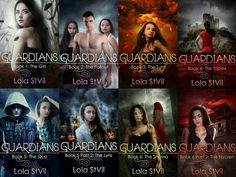 The Guardians series by Lola StVil
