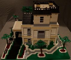 Huge house from miami: A LEGO® creation by Patrick R. : MOCpages.com