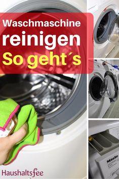 Waschmaschine reinigen - Beste Tipps Haushaltsfee.org