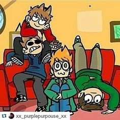 If this was me and my friends I'd either be Tom or Tord