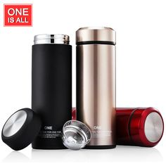 Thermos Cup Glass Liner Thermos Mug Garrafa Termica Coffee Cup Stainless Steel Vacuum Flask Mug Straight Thermo Cups #Affiliate