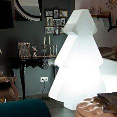 Lampa podłogowa Slide | Choinka Lightree 150 | biały - Makeithome.pl | Loving Creative Solutions