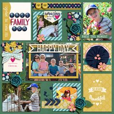 Digital Scrapbook Layout using Pocket Life '15: November Collection by Traci Reed