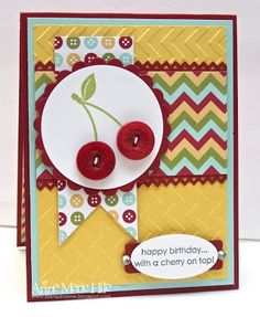 by Anne Marie Hile, Stampin' Anne: Paper Players  - Nance's Sketch