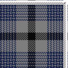 Hand Weaving Draft: TS619Hanna, Tartan Generator, 4S, 4T - Handweaving.net Hand Weaving and Draft Archive