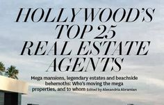 Whether you are buying or selling you can work with one of Los Angeles' top real estate agents Sally Forster Jones.