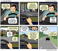 The Joy of Tech comic... because somebody has to make fun of our new computer overlords.