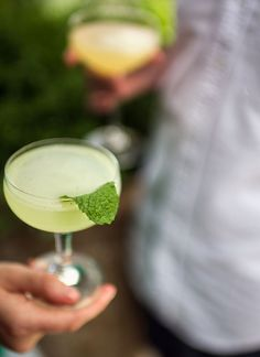 Southside cocktail recipe: This standard lands somewhere between a gin Mojito sans soda water and a Gimlet with mint.   Photo: Daniel Krieger