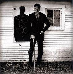 William S. Burroughs. Photography by Anton Corbijn.