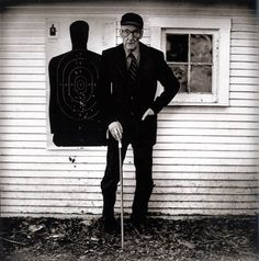 William S Burroughs By Anton Corbijn