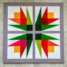 1000+ ideas about Barn Quilts on Pinterest | Barn Quilt Patterns, Quilts and Quilt Blocks