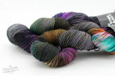 Psychosocial - Lady Persephone Sock - Bluefaced Leicester & Nylon