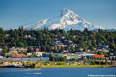 Hood River, Oregon ~ beautiful, clean, and it has a very cool downtown vibe. I have dear friends that have been fortunate to live here for the past 25 years.