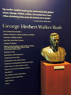 George HW Bush Presidential Library #PresidentialLibrary #GeorgeBush #Texas…