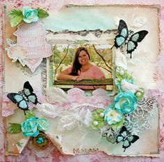 Just Listed~ a one of a kind 12 x 12 premade scrapbook layout that was designed and created by me, as a Design Team member for the Scraps Of Elegance  https://www.etsy.com/listing/210165975/reneabouquets-so-feminine-premade