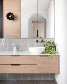 Every bathroom remodel starts with a style idea. From full master bathroom renovations, smaller guest bath remodels, and also bathroom remodels of all sizes. Bathroom Sink Design, Bathroom Renos, Bathroom Interior Design, Bathroom Renovations, Home Interior, Bathroom Cabinets, Bathroom Subway Tiles, Wall Tiles, Scandinavian Bathroom Sinks