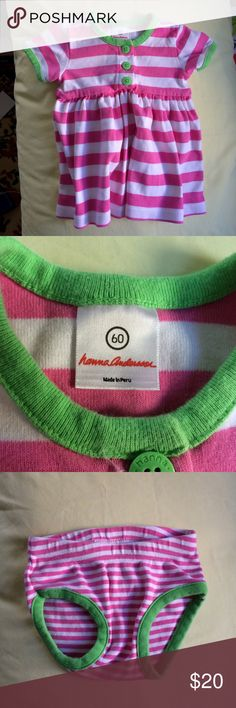 Hanna Andersson Play Dress and Bloomers 60 Gently used. Hanna Andersson Dresses Casual