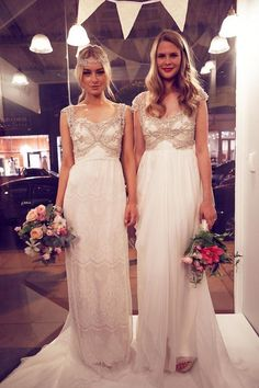Anna Campbell Wedding Dresses / http://www.deerpearlflowers.com/anna-campbell-forever-entwined-wedding-dresses/