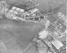 German photo reconnaisance of the Gloster Huccleote site with the Brockworth Shadow Factory at the bottom of the picture 21st October, Gloucester, History, Fun, German, Pictures, Fin Fun, Deutsch, Photos
