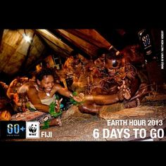 Did you know #Fiji will be the first country to switch off for #EarthHour 2013? We're less than six days away from lights off around the world...