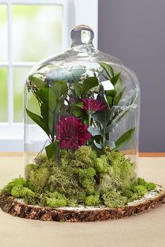 Fall in love with your wedding centerpieces with this rustic-inspired arrangement you can make yourself using supplies found at a crafts store. The really great thing about these centerpieces? They'll look great in your new home, too, so save one for yourself to decorate your space and as a reminder of your special day for years to come.