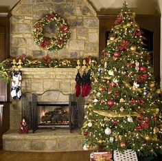 Need to get a large wreath for fireplace