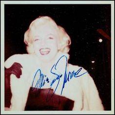 1955 / Rares candides et autographes de James COLLINS, l'autre grand fan de Marilyn, après James HASPIEL.
