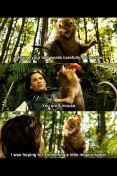 Not my favorite Narnia film, but I LOVED this scene. Ah, Reepicheep, the most noble mouse in all of literary history! The Chronicles of Narnia: Prince Caspian Cs Lewis, Vampire Academy, Philip Pullman, Movies Showing, Movies And Tv Shows, Disney Movies, Disney Pixar, Peter Pevensie, Lucy Pevensie