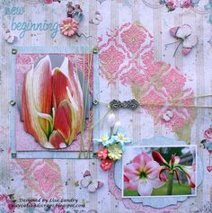 iluvcats and scraps: new beginning. Blue Fern Studios - Blush Collection - Reminisce