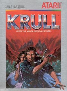 mastersofthe80s: Krull (Atari 2600 1983)