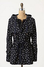 Anthropologie Rain-Dotted Anorak media gallery on Coolspotters. See photos, videos, and links of Anthropologie Rain-Dotted Anorak. Cute Rain Jacket, Anthropologie, Estilo Retro, Cute Jackets, Rain Jackets, Rain Coats, Raincoats For Women, Spring Jackets, Tights